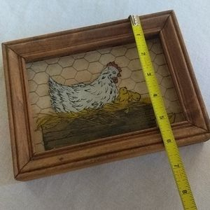 Vintage Wall Art - Vintage 3D Hen and Chick Kitchen Art Gallery Wall